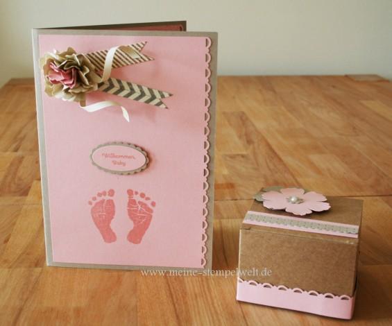 BabyKarte und Verpackung vom 26.08.2013