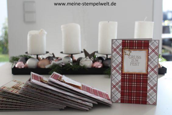 stampin up weihnachtskarten meine stempelwelt. Black Bedroom Furniture Sets. Home Design Ideas